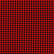 Red And Black Checkered Textile Fabric Background — Stock Photo #27215387