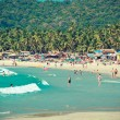 Tropical beach of Palolem — Stock Photo #28282139