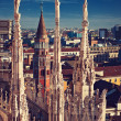 Duomo Cathedral in Milan, Italy — Stock Photo #29018291