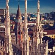 Stock Photo: Duomo Cathedral in Milan, Italy