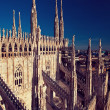 Duomo Cathedral in Milan, Italy — Stock Photo