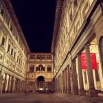 Uffizi Gallery in Florence — Stock Photo #51425441