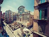 San Paolo Maggiore church in Naples — Stock Photo