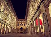 Uffizi Gallery in Florence — Stock Photo
