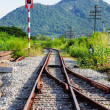 Railway Thailand — Stock Photo