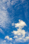 Sky daylight. Natural sky composition. Element of design. — Stock Photo