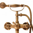 Vintage brass douche — Stock Photo #34340679