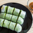 Vegetables spring roll — Stock Photo #34340867