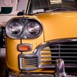 ������, ������: Old yellow taxi