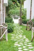 Bahçe taş yol — Stok fotoğraf
