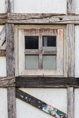 Old wooden window — Stock Photo