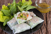 Thai spring roll — Stock Photo
