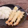 Stock Photo: Japanese fried tempura