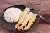 Japanese fried tempura — Foto Stock