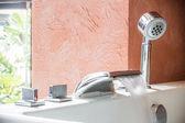 Jacuzzi faucet at terrace — Foto Stock