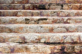 Close-up old Stone Stairs — 图库照片