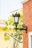 Oude straat lantaarn — Stockfoto