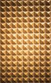 Zlaté zdi vzorek pozadí — Stock fotografie