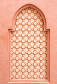 Wall decorated in morocco style — Stock Photo