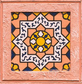 Moroccan tile design — Stock Photo