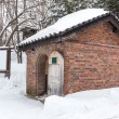 Old brick cottage during the winter — Stock Photo #46883119