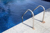Swimming pool with stair — ストック写真