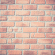 Background of brick wall texture (soft color filter) — Stock Photo