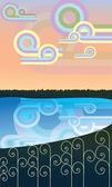 Nature — Stock Vector