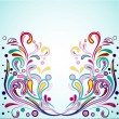 Vector de stock : Funky Swirls