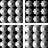 Design seamless geometric pattern — Stock Vector