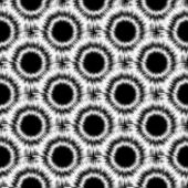 Design seamless monochrome pattern — Stock Vector