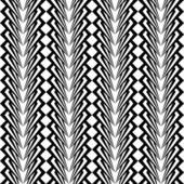 シームレスなモノクロ垂直パターンを設計 — ストックベクタ