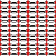 Design seamless monochrome striped pattern — Stock Vector #34646471