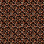 Design seamless decorative spiral pattern — Stock Vector