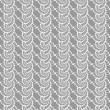 Design seamless monochrome helix vertical pattern — ストックベクタ