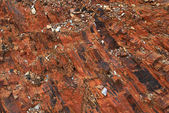 Abstract rock texture from Pyrenees mountain in Portugal — Stock Photo