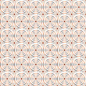 Design seamless spiral circle pattern. Geometric colorful backgr — Vector de stock