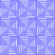 Wektor stockowy : Design seamless blue checked pattern. Abstract geometric backgro