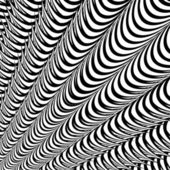 Design abstract striped lines background. Convex speckled textur — 图库矢量图片