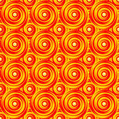 Design sömlös färgglada virvel mönster. ljusa geometriska circula — Stockvektor