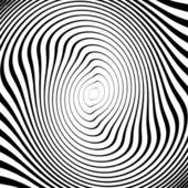 Design monochrome twirl movement ellipse background. Abstract st — Stock Vector
