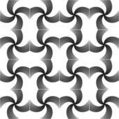 设计无缝无色的旋转运动模式。抽象飘扬 — 图库矢量图片
