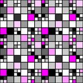 Patrón de diseño colorido mosaico inconsútil tetragon. decoración abstracta — Vector de stock