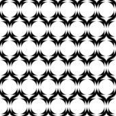 Design seamless monochrome horizontal zigzag pattern — Stock Vector