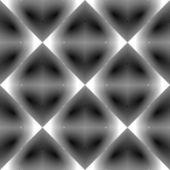 Design seamless monochrome diamond pattern — Stock Vector
