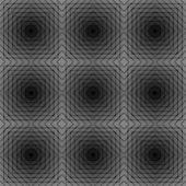 Design seamless checked trellis pattern — Stock Vector