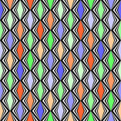 Design seamless rhombus geometric pattern — Stock Vector