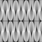 Design seamless monochrome decorative pattern — Stock Vector