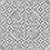 Entwurf nahtlose monochrome verzerrte karomuster — Stockvektor