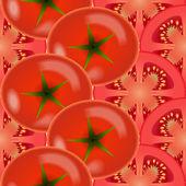 Tomaten-gemüse — Stockvektor